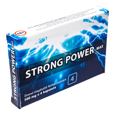 Strong Power Max - 4db kapszula