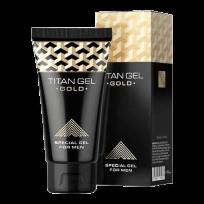 TITAN Gél Gold - 50ml