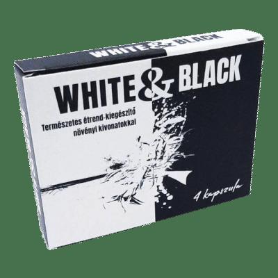 White & Black - 4db kapszula