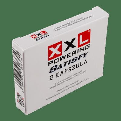 XXL Powering Satisfy - 2db kapszula