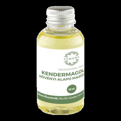 HEMP Kendermagolajos növényi alapú masszázsolaj - 50ml