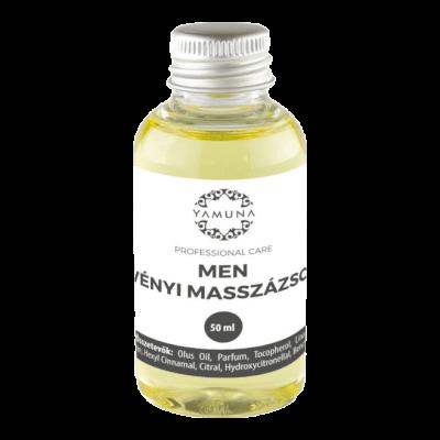 MEN növényi alapú masszázsolaj - 50ml