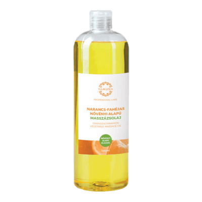 Narancs-fahéjas növényi alapú masszázsolaj - 1000ml