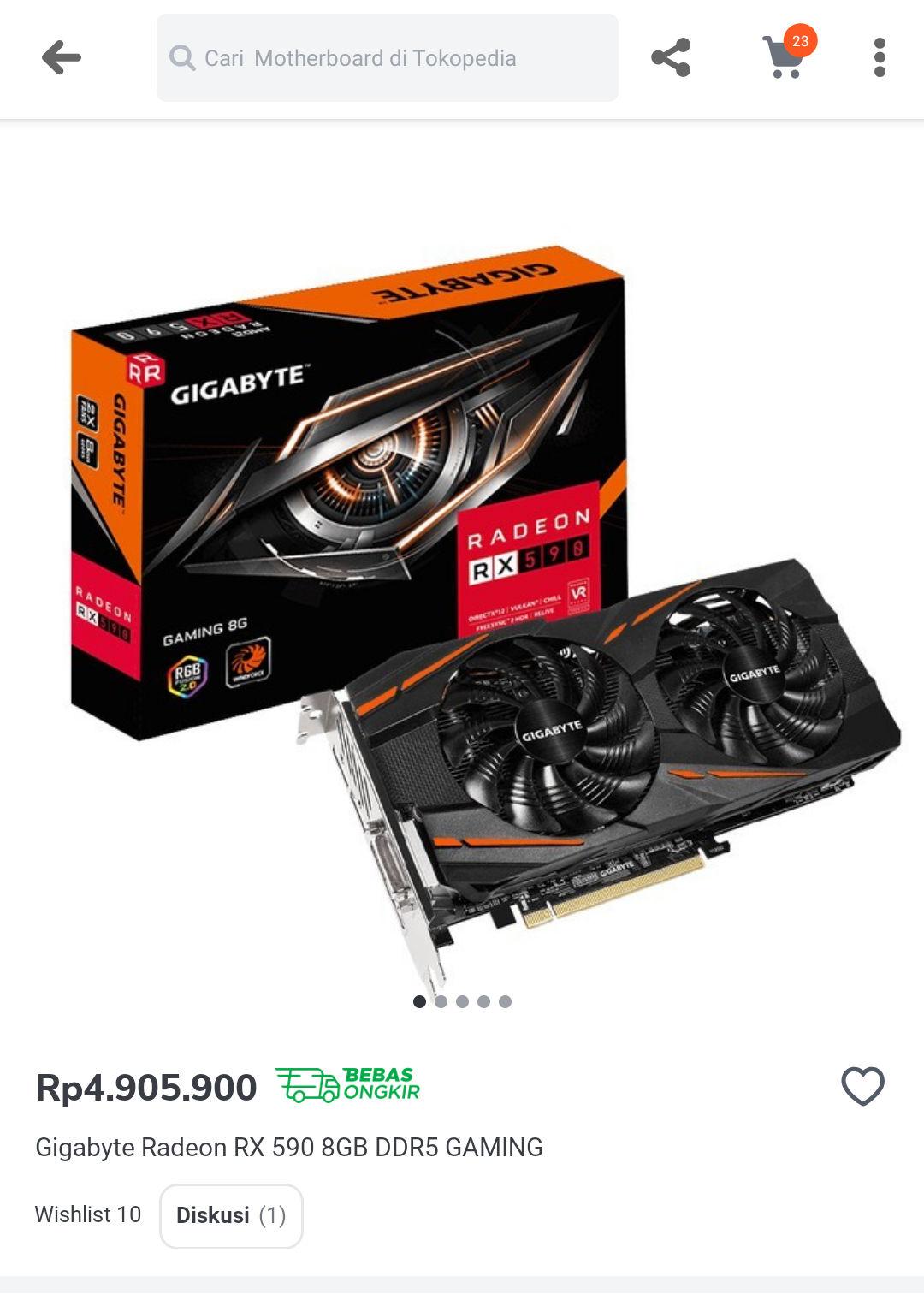 Amd-a Radeon Rx 590