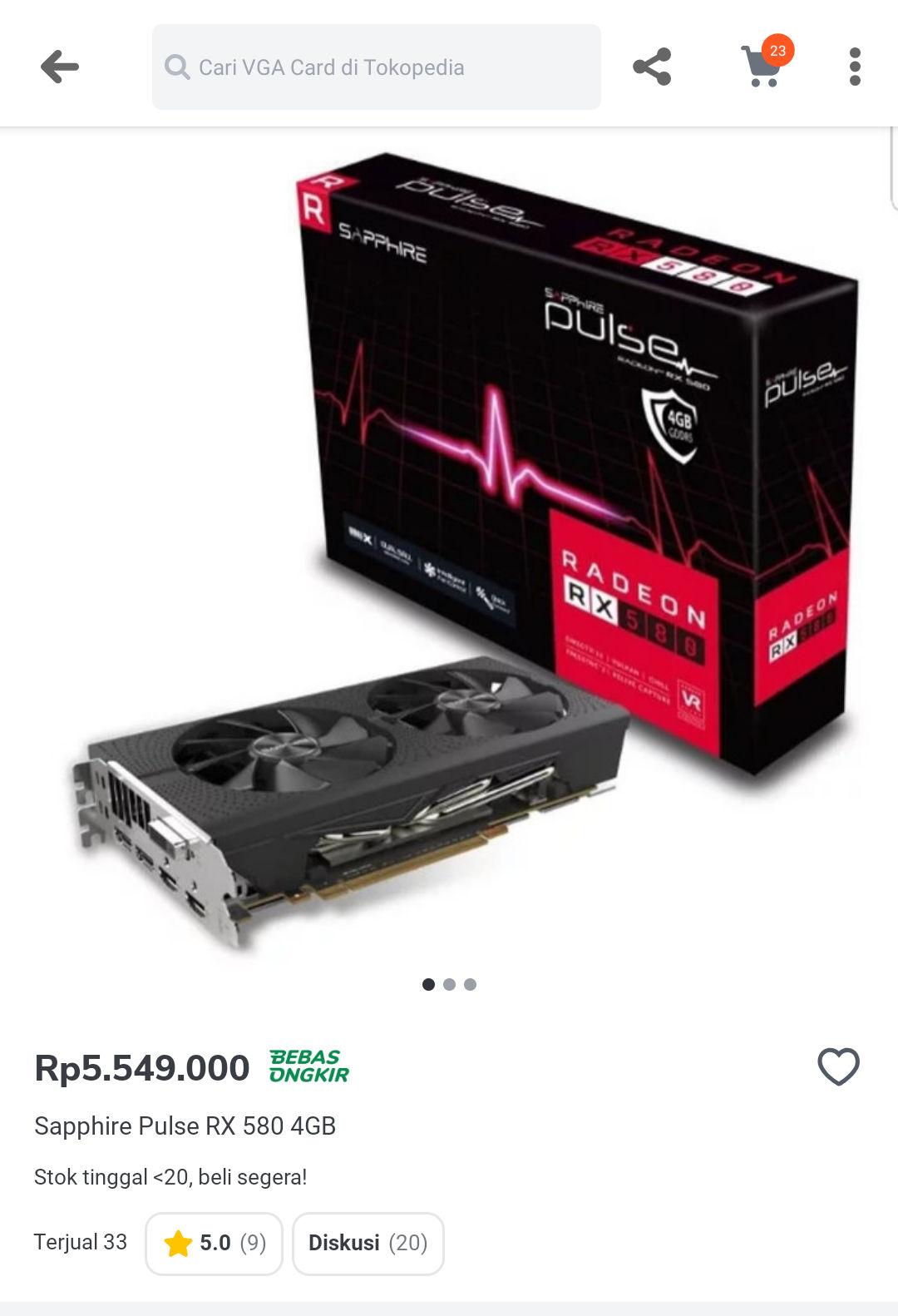 Amd-a Radeon RX 580