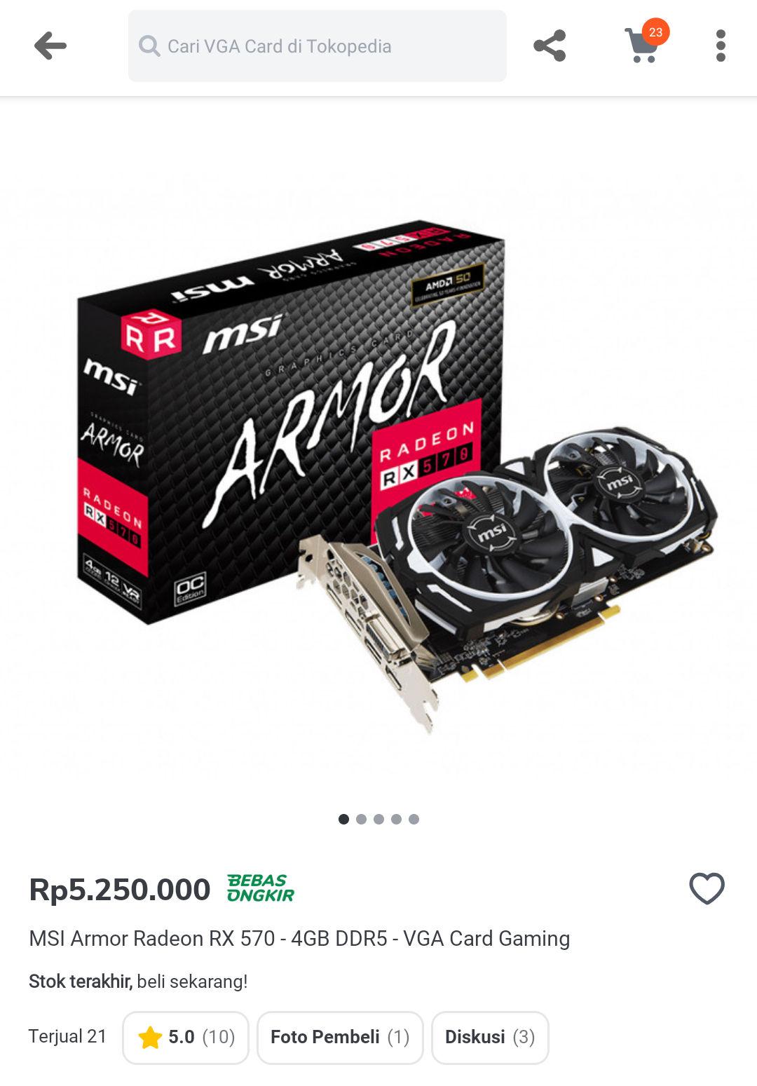 Amd-a Radeon RX 570