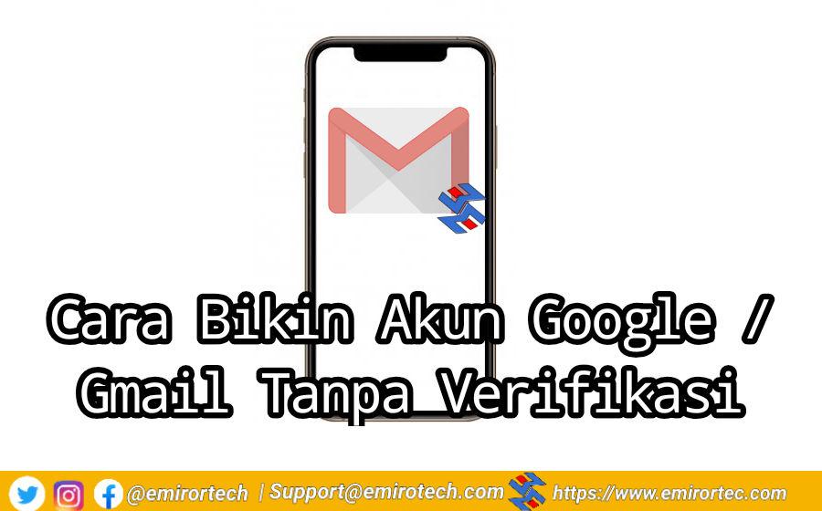 cara membuat akun gmail tanpa verifikasi