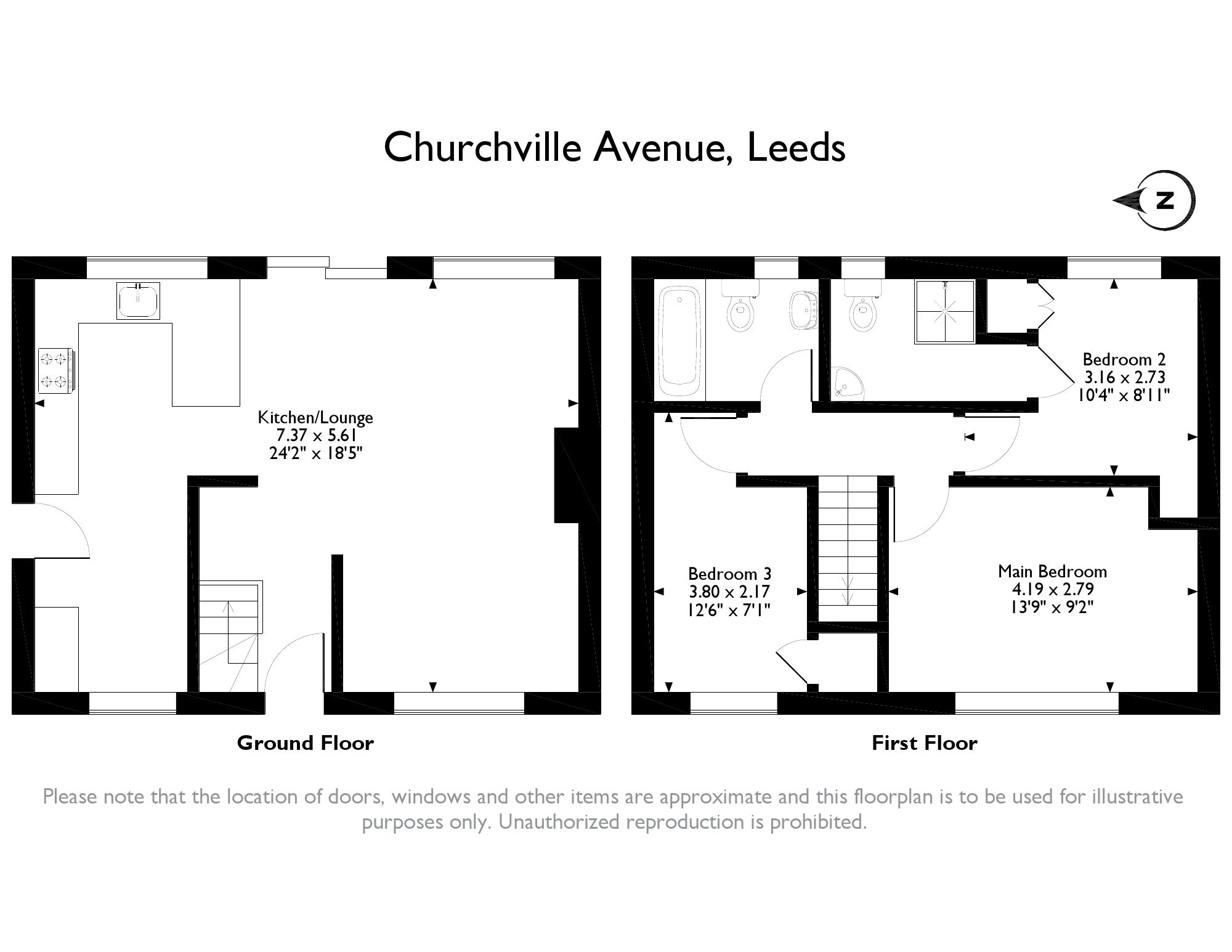 Semi Detached House For Sale In Churchville Avenue Micklefield Average Cost Of Rewiring A Three Bed Leeds Ls25