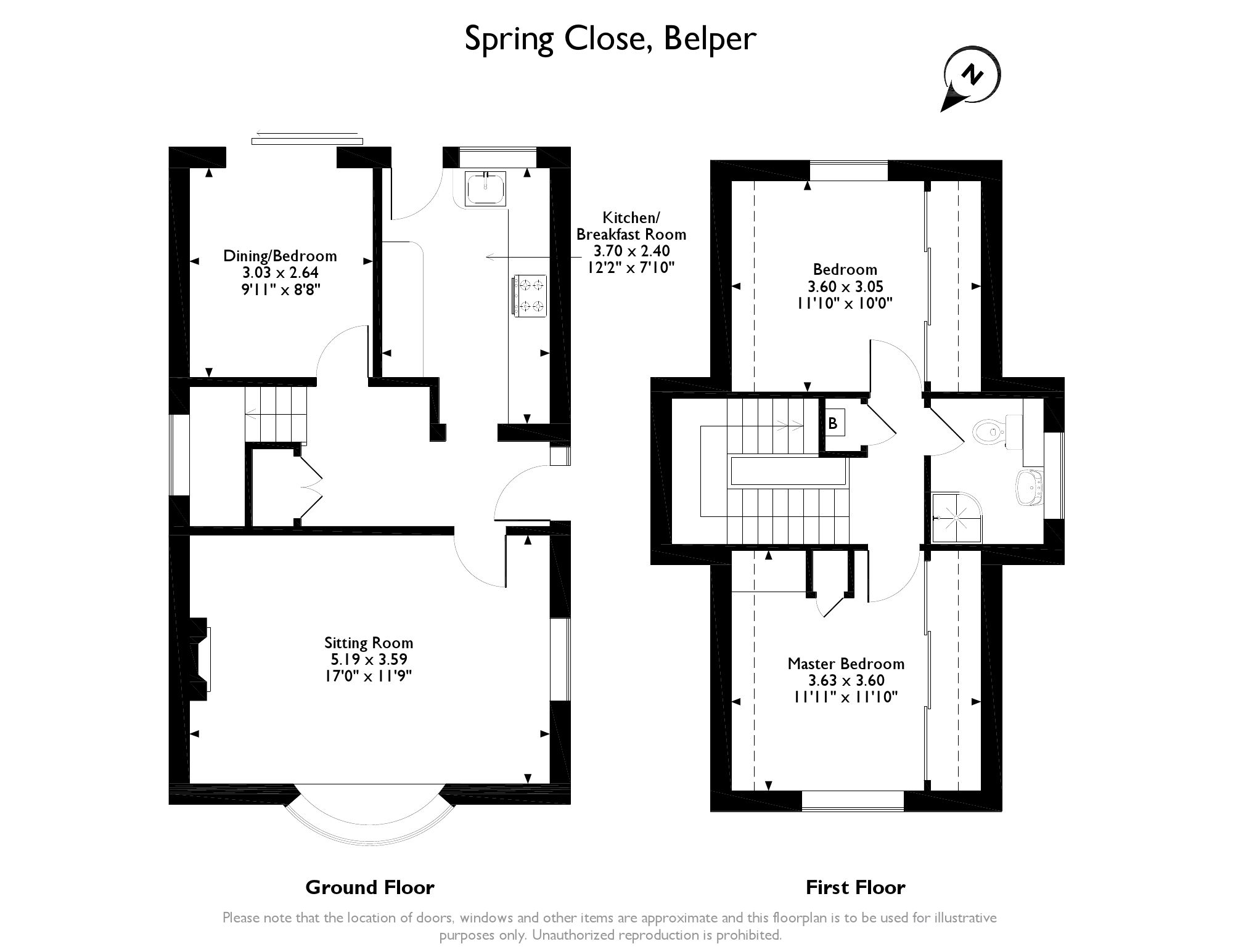 Detached House For Sale In Spring Close Belper De56 From Emoov Schematic