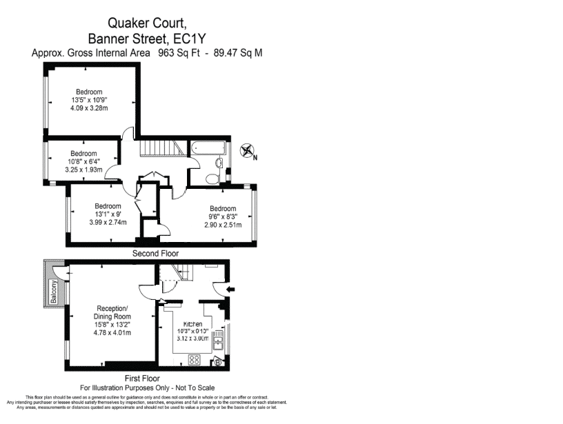 Quaker Court, Banner Street, London, London, EC1Y8QB