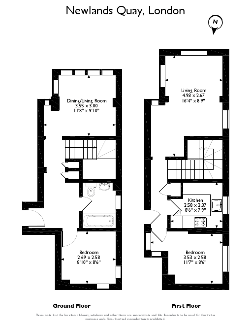 3 Bed, Flat