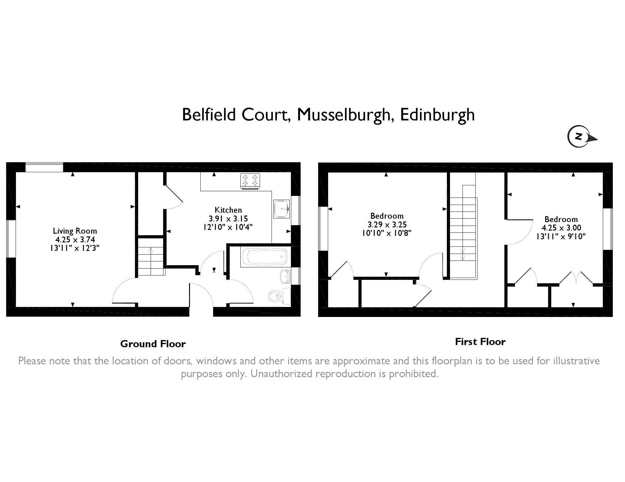 2 Bed, Flat