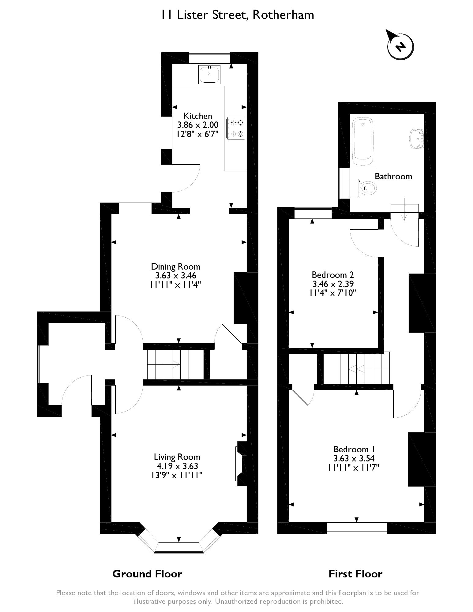 Semi Detached House For Sale In Lister Street Rotherham S65 From Emoov Engine Diagram
