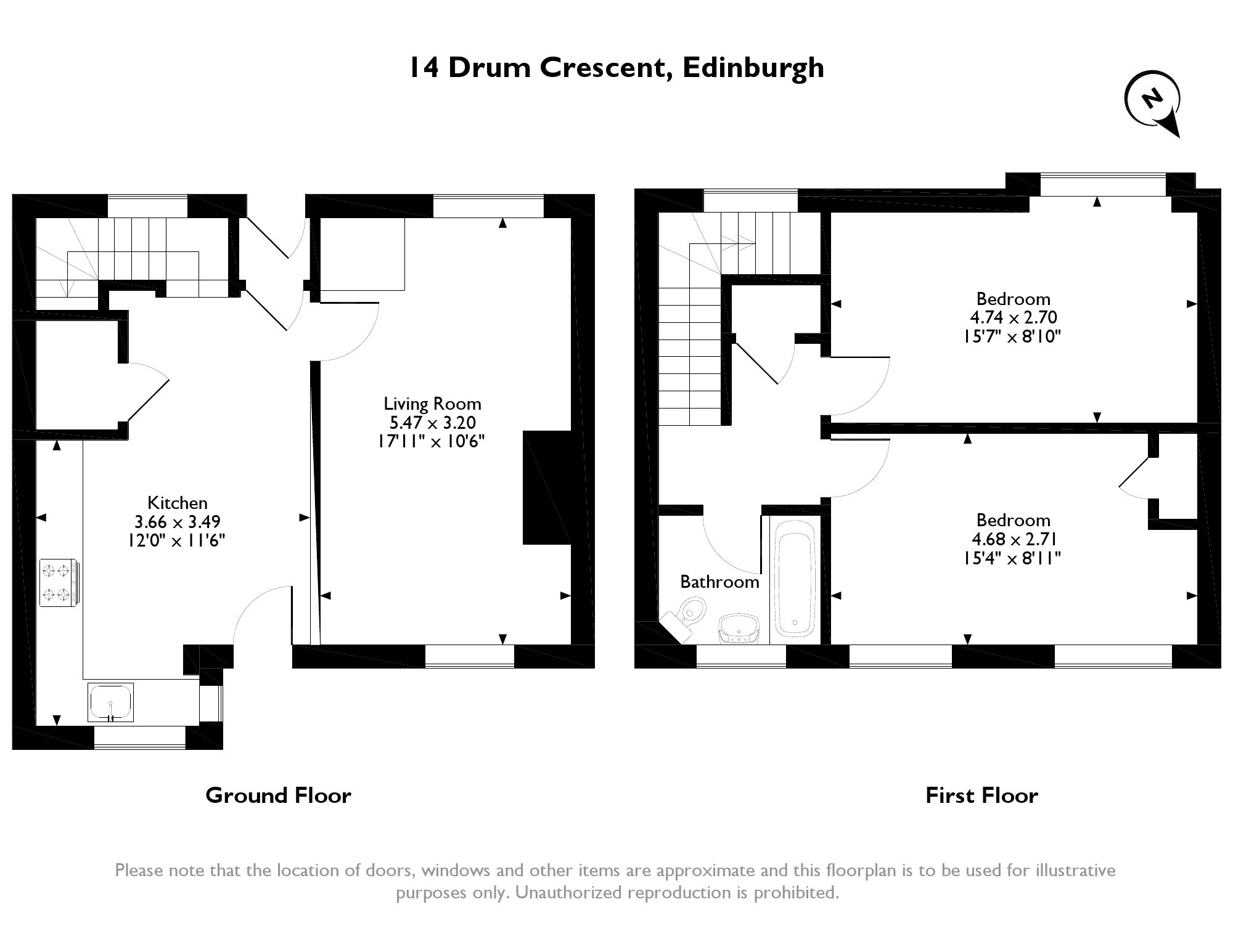Drum Crescent, Edinburgh, EH17