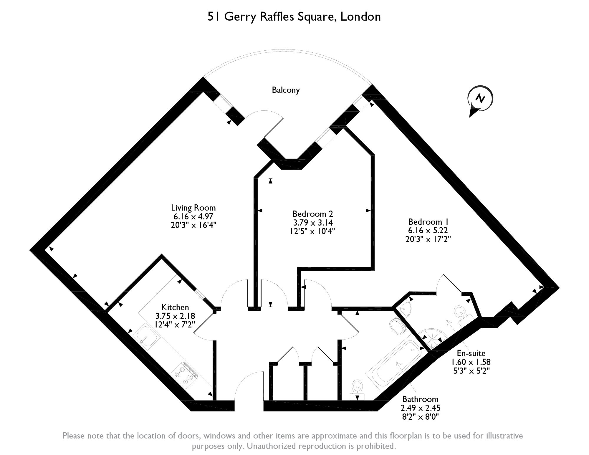 Gerry Raffles Square, London, E15