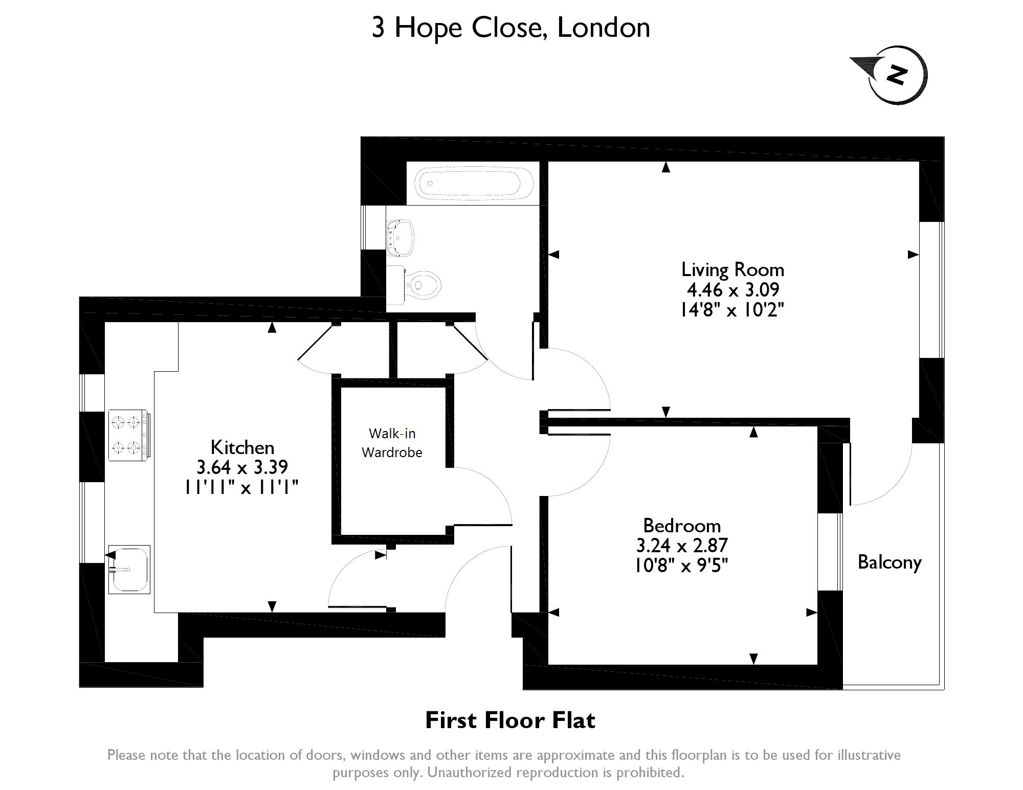 Hope Close, London, SE12