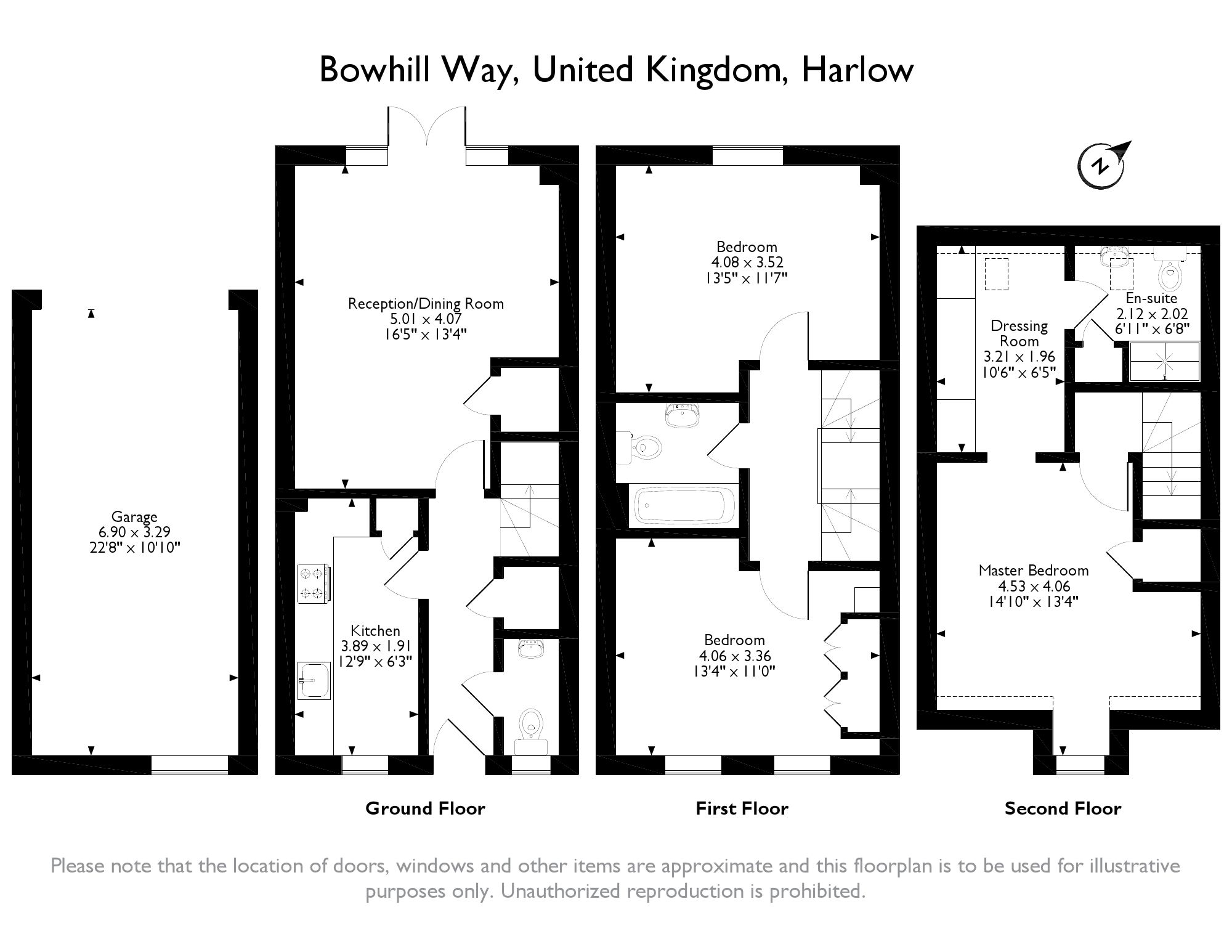 Bowhill Way, Harlow, Essex, CM20