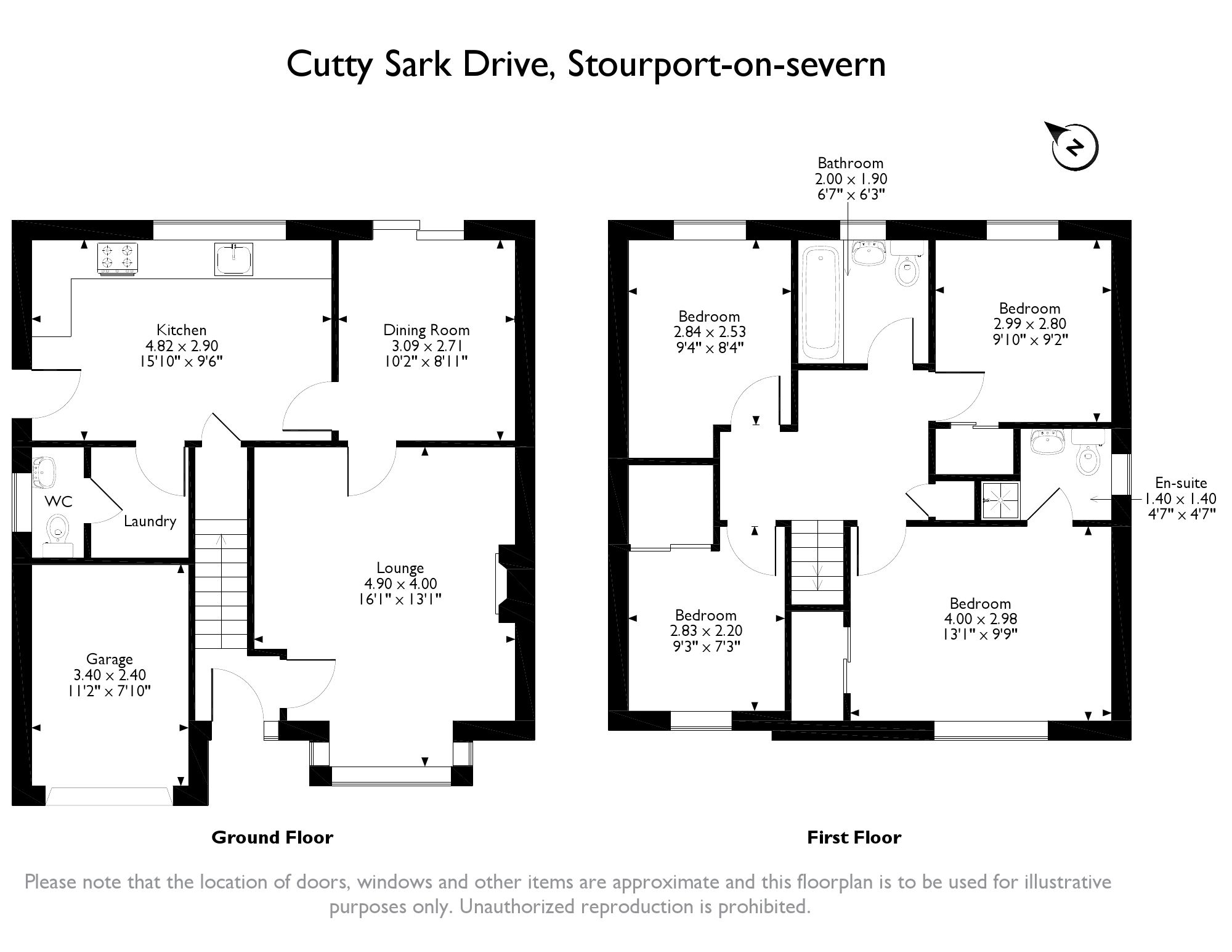 Cutty Sark Drive, Stourport-on-severn, DY13