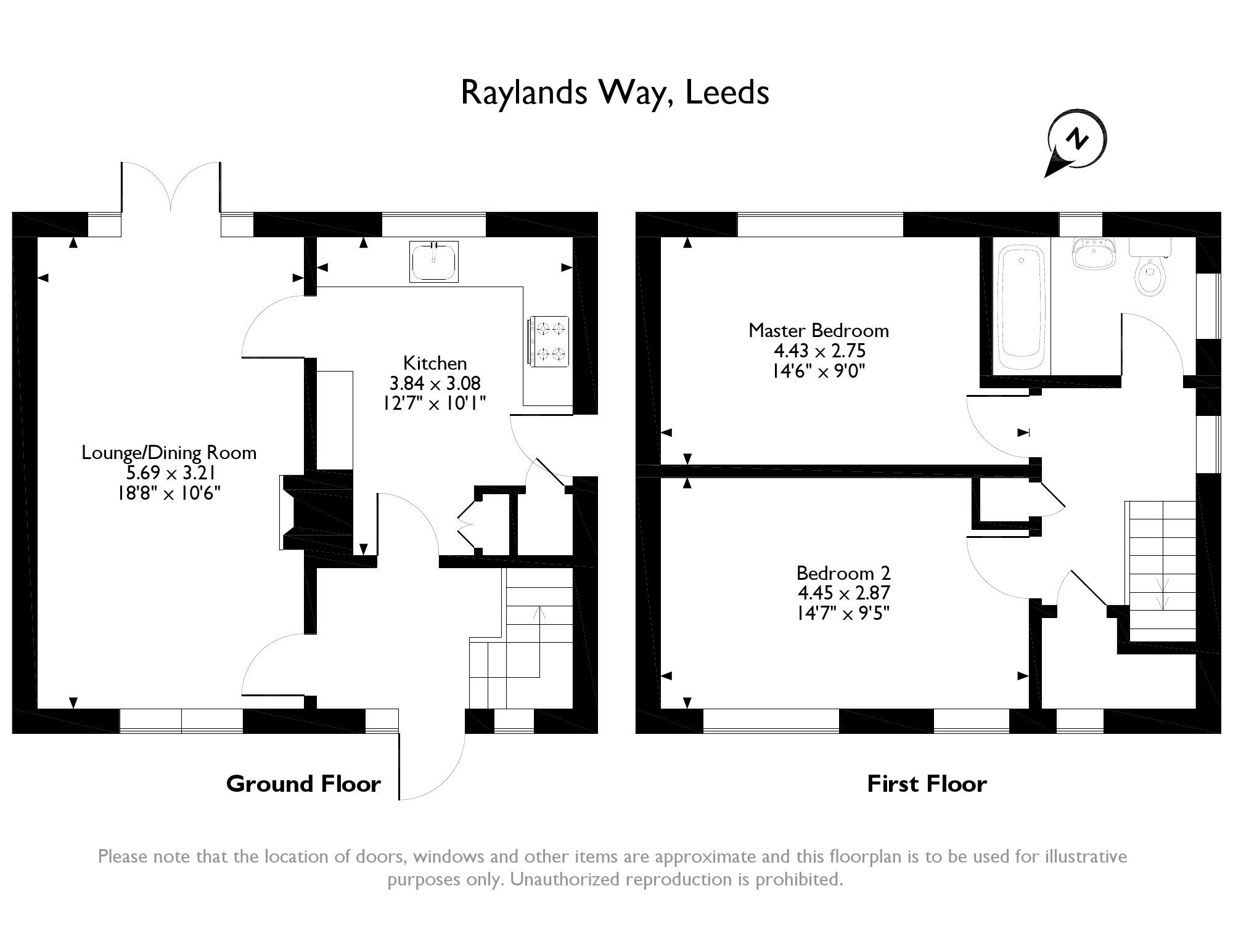 Raylands Way, Leeds, LS10