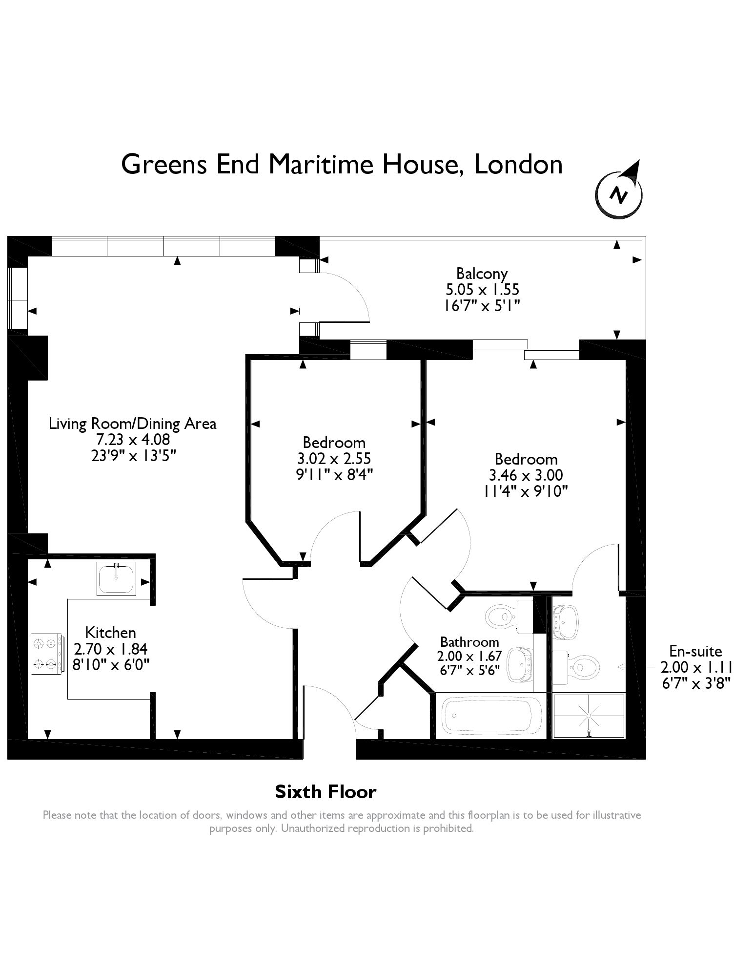 Maritime House, Greens End, London, SE18