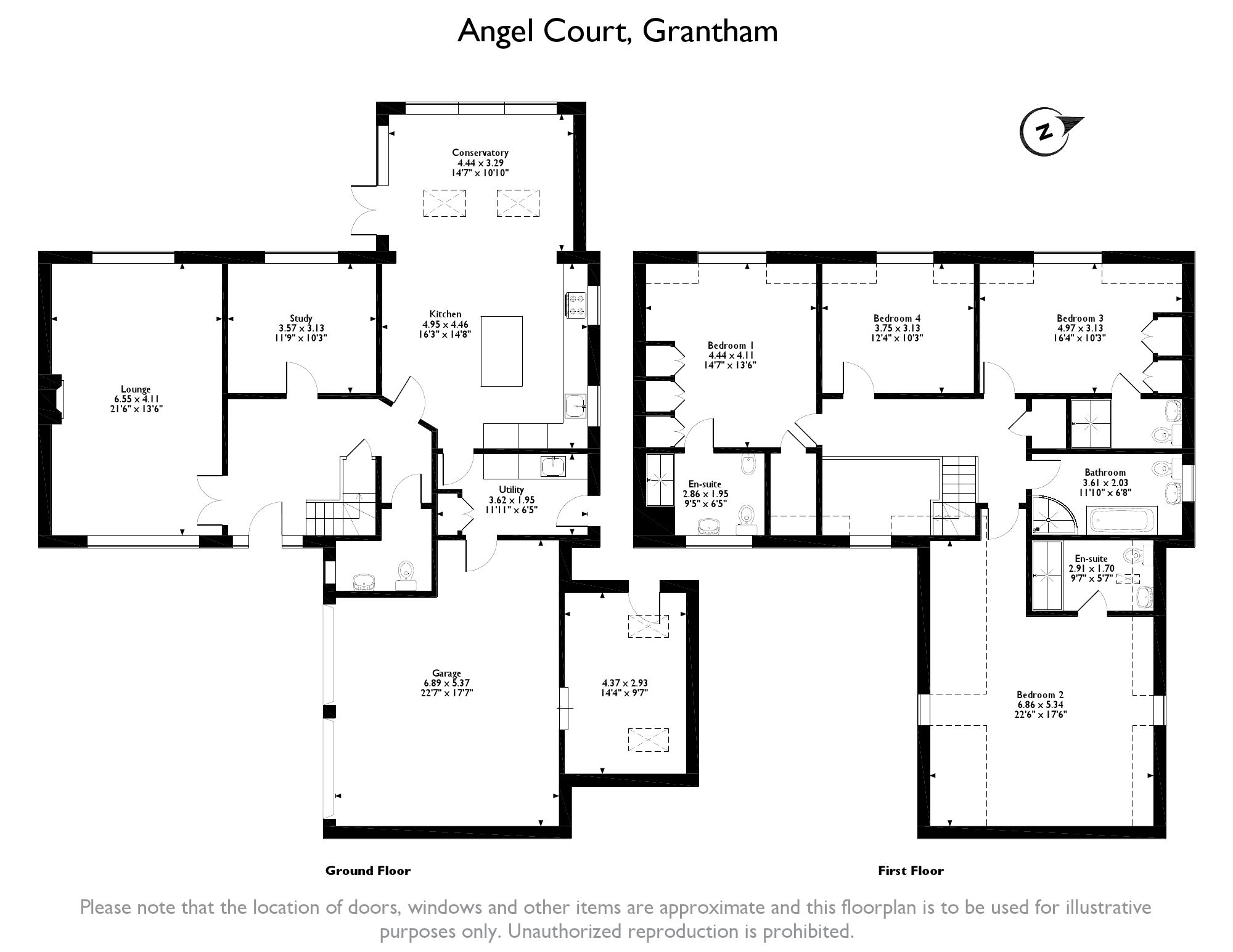 Angel Court, Grantham, NG32