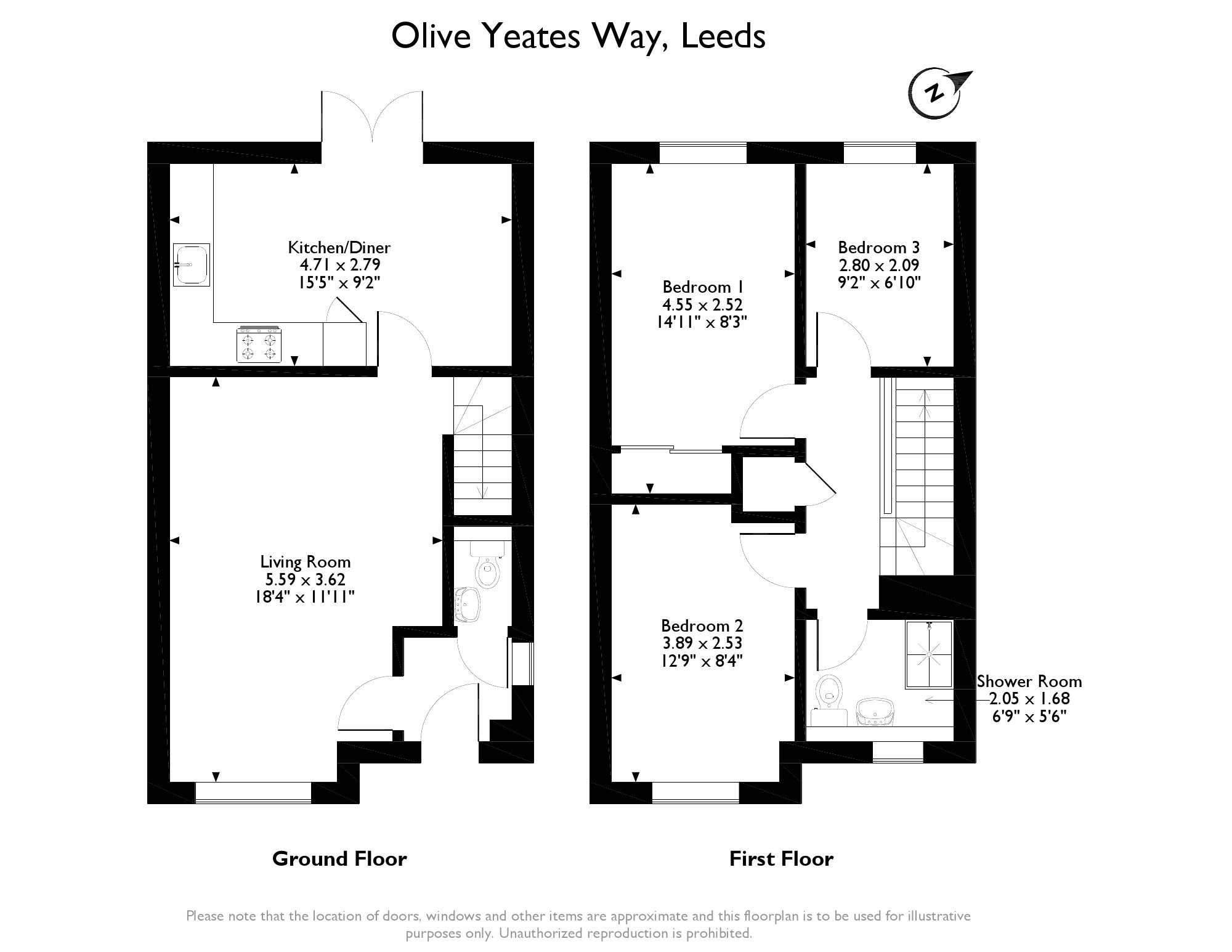 Olive Yeates Way, , Leeds, West Yorkshire, LS15