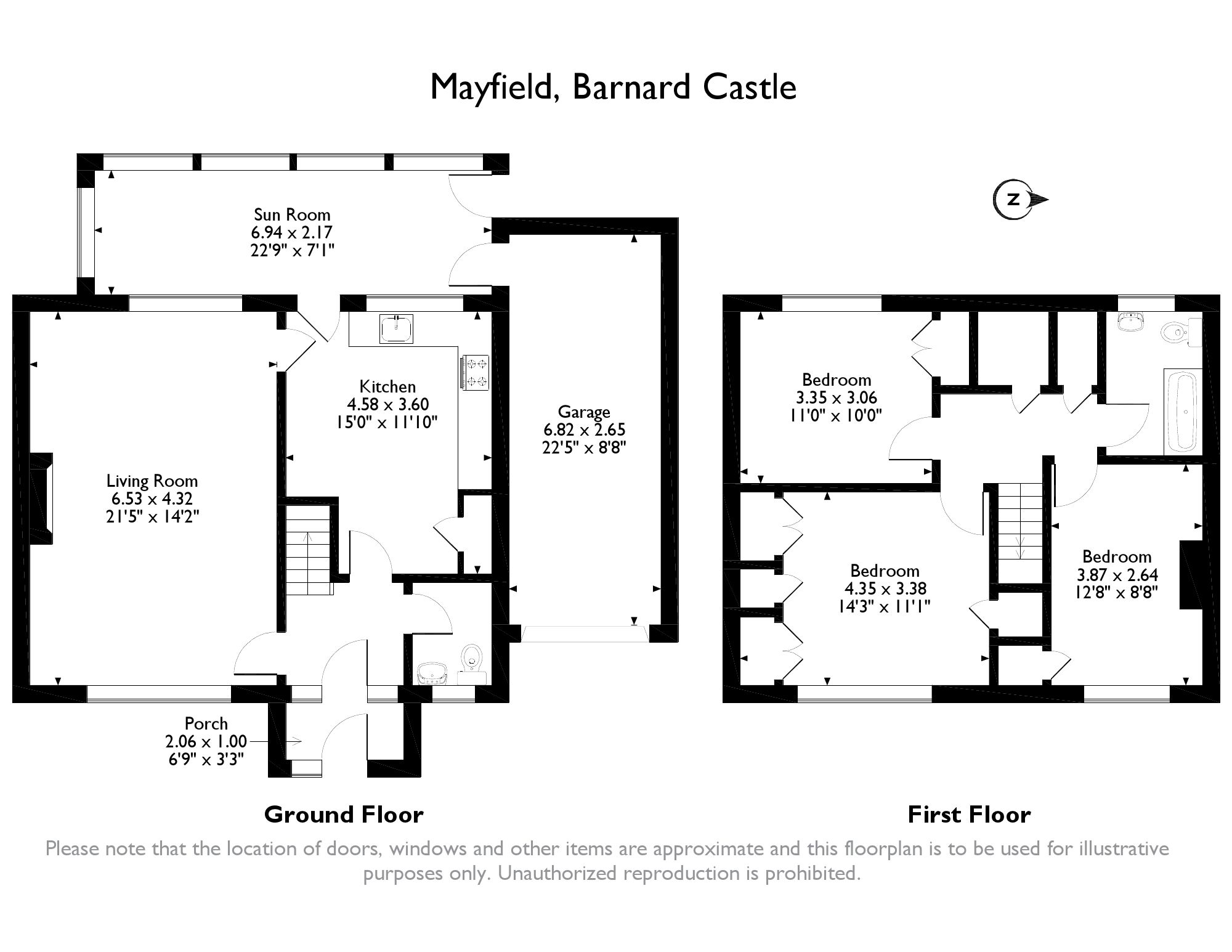 Mayfield, Barnard Castle, DL12