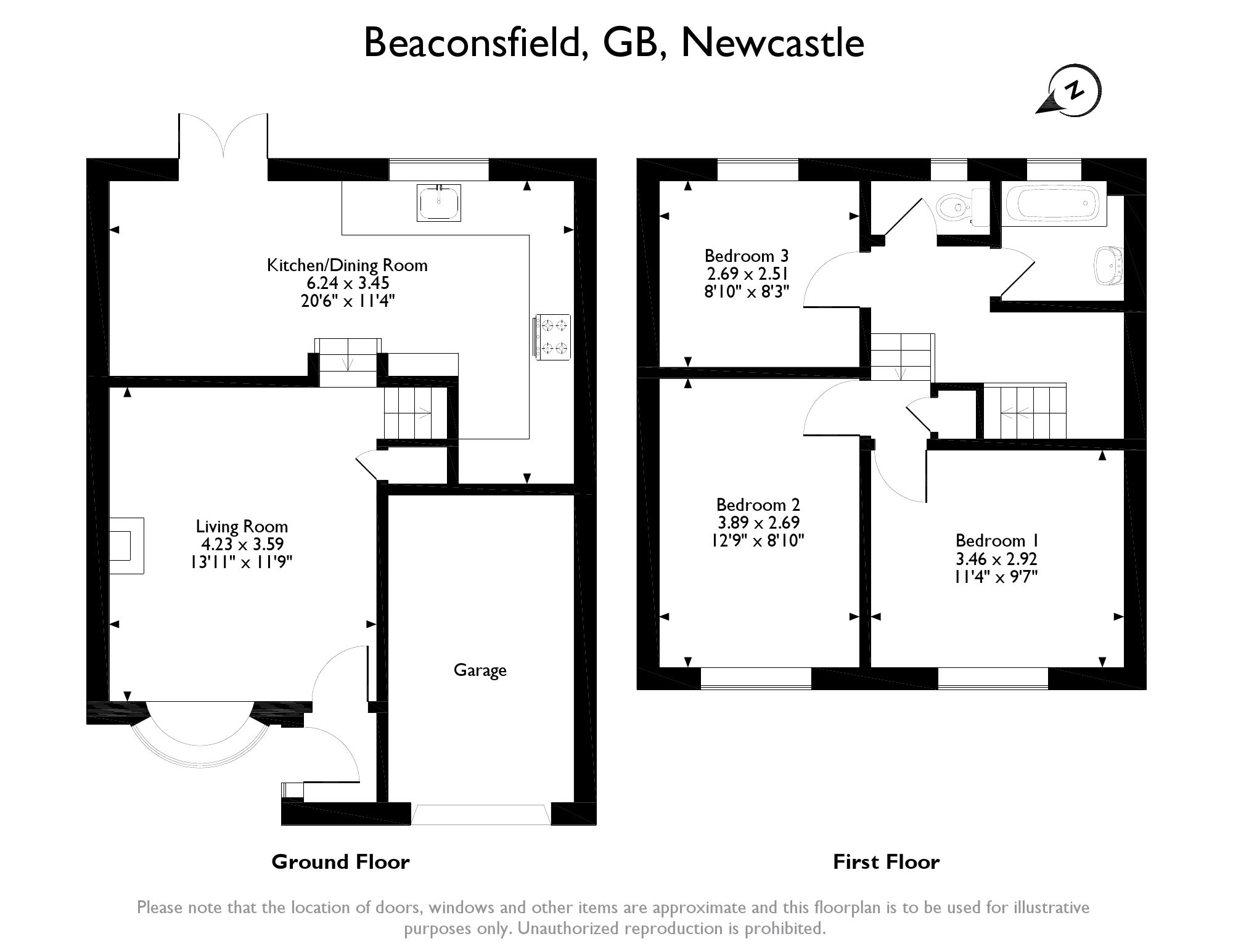 Beaconsfield, Newcastle, ST5