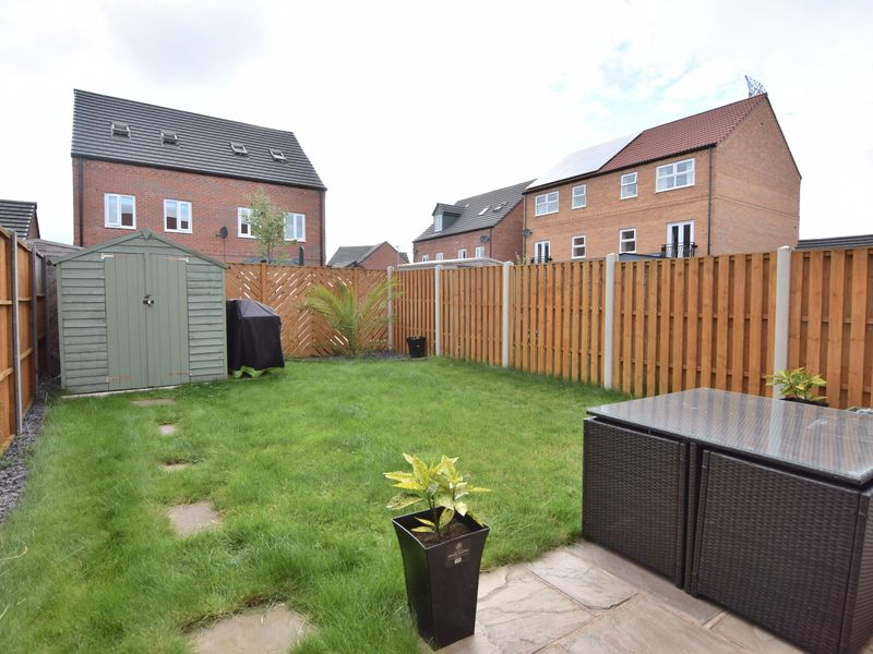 Johnsons Gardens, Rotherham, S63