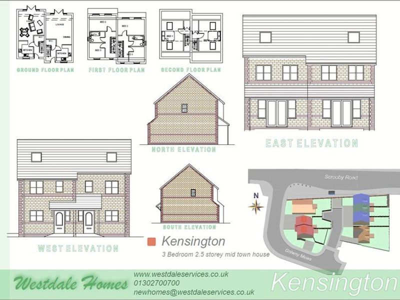 Plot 3, Galway Mews, Doncaster