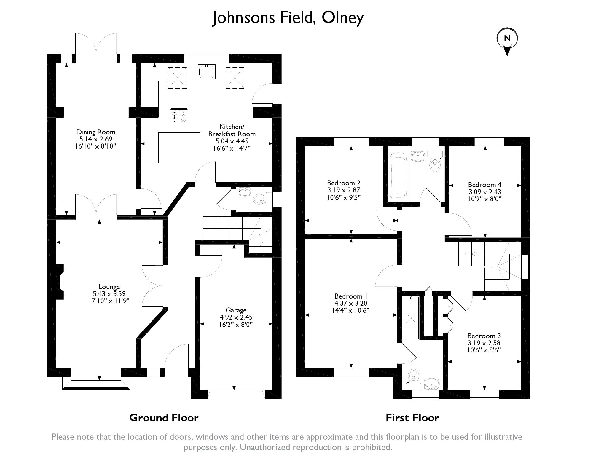 Johnsons Field,  Olney, MK46