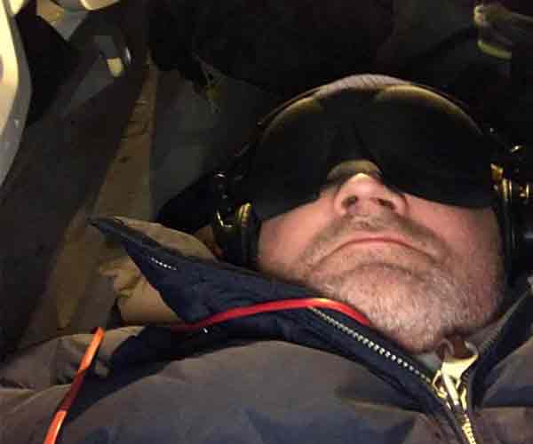 Mr. Quirk Joins the CEO Sleepout