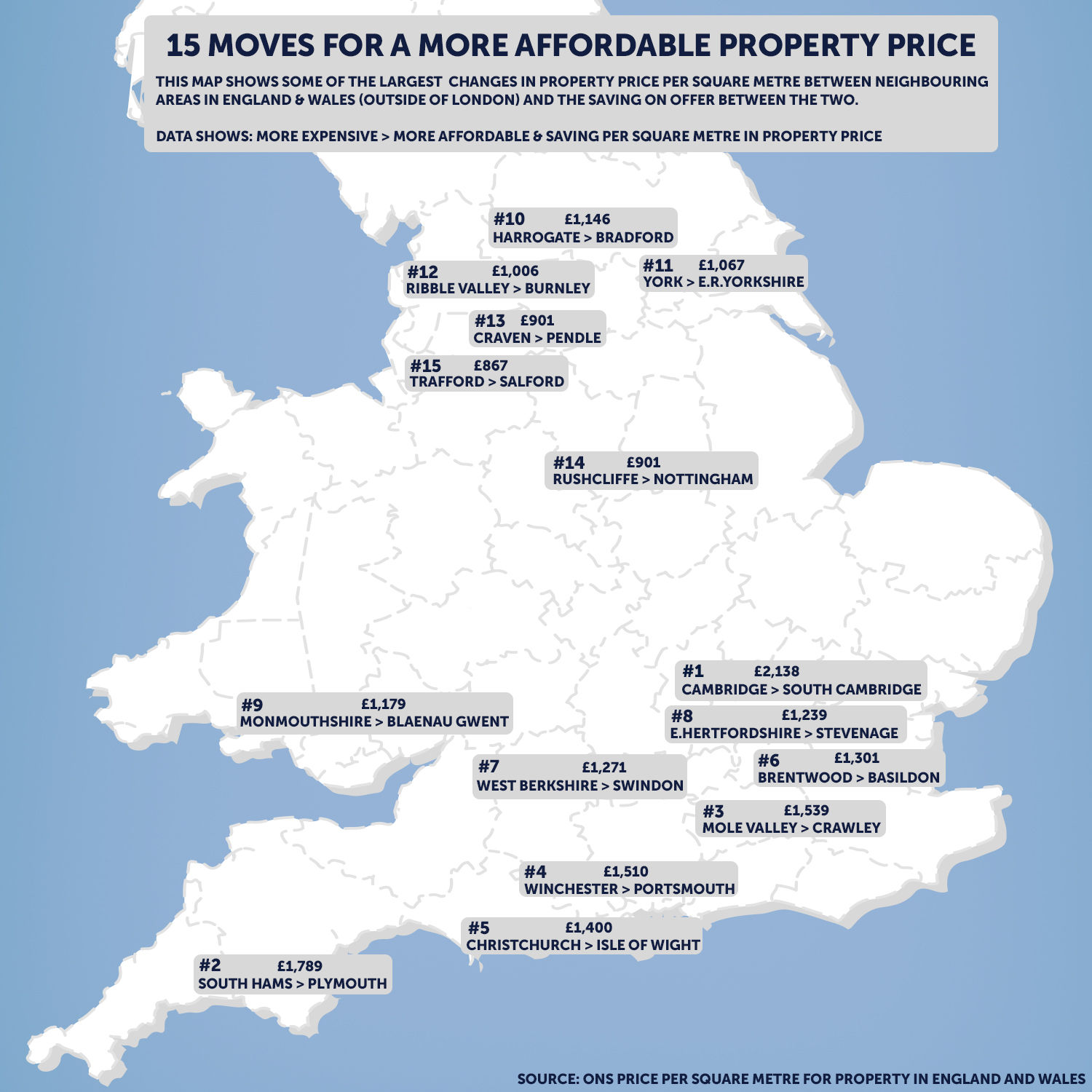 Neighbour Property Price Drops: Where You Can Move Next Door for A More Affordable Foot on the Ladder