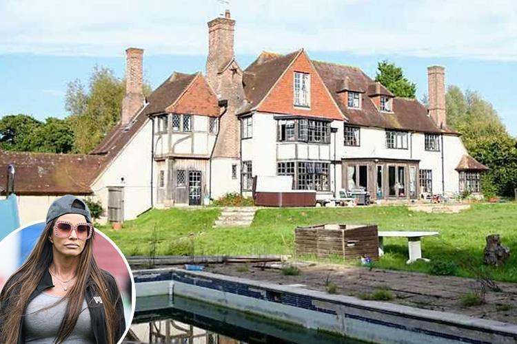 Katie Price's mansion due for drop in value