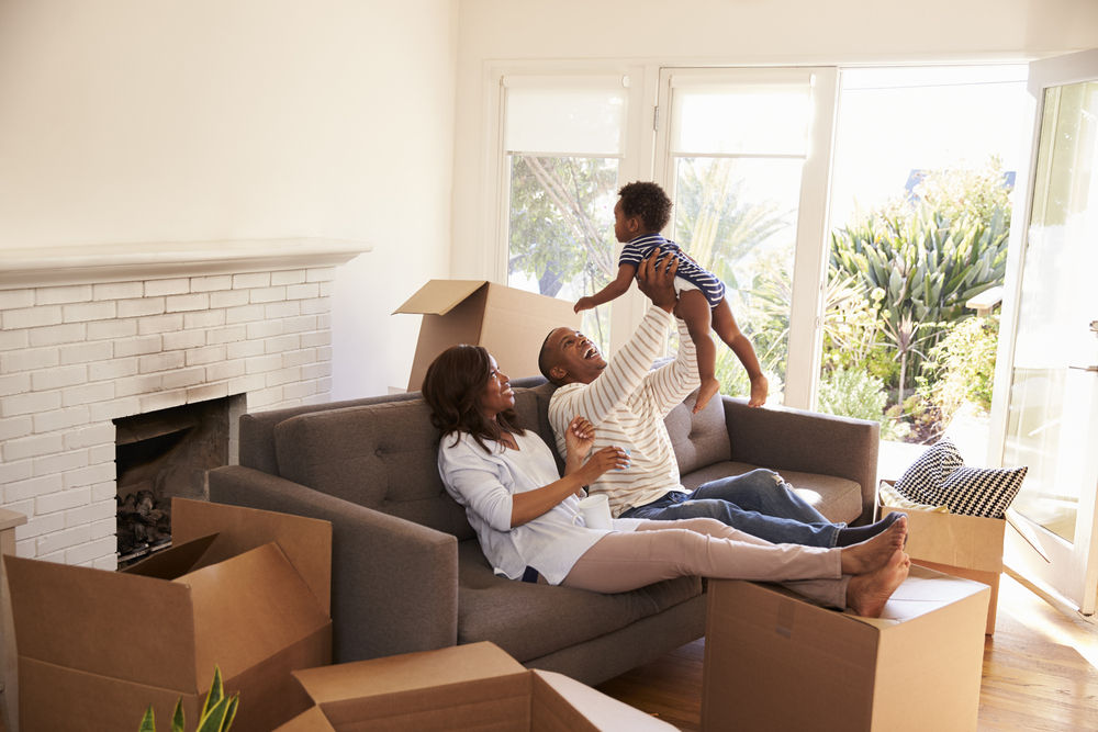 buying a house for a family, family home
