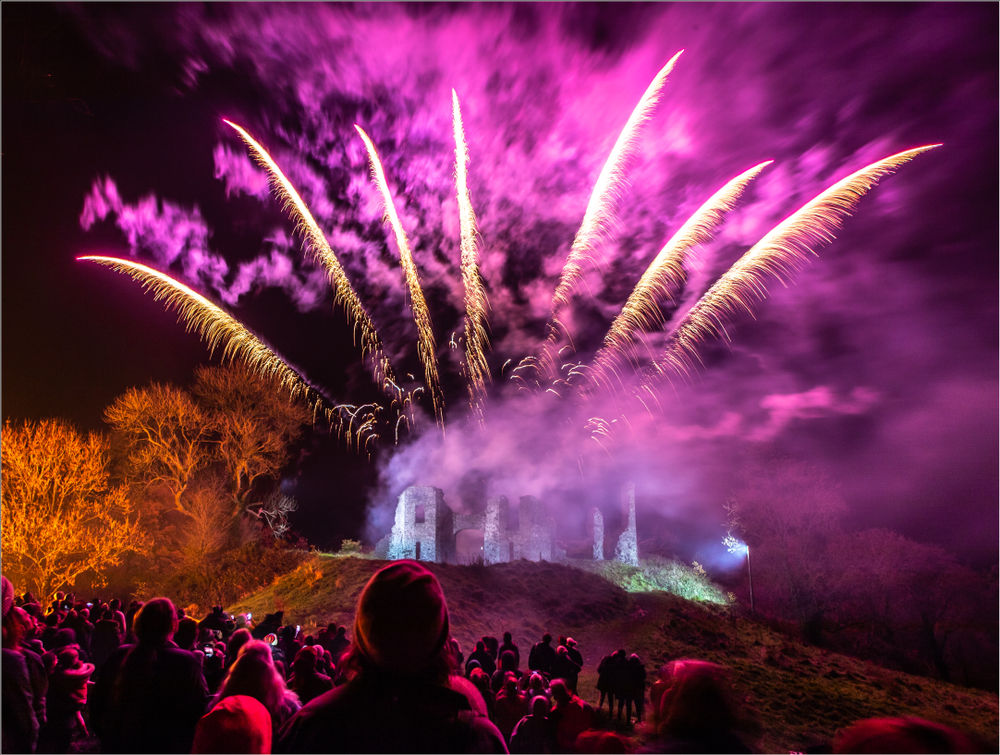 Tamworth Castle Fireworks Night