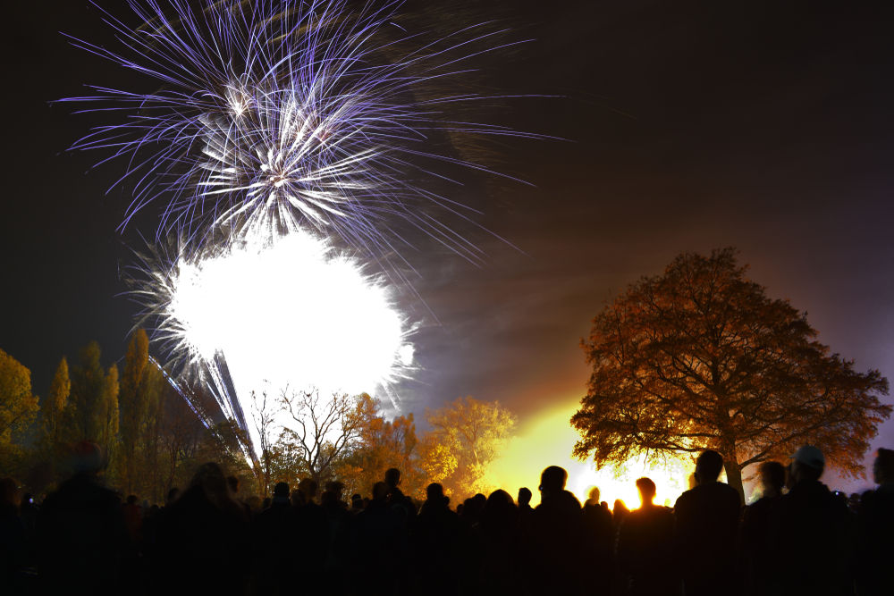 Platt Fields Park Bonfire Celebrations