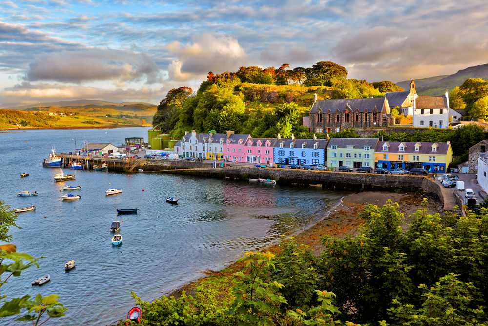 Portree before sunset, Isle of Skye, Scotland, Seaside, Seaside Hotspots, Seaside Hotspots 2020, coastal regions
