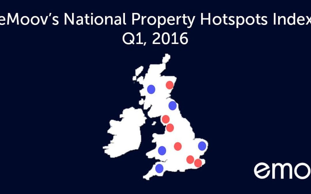 eMoov's National Hotspots Index, Q1, 2016