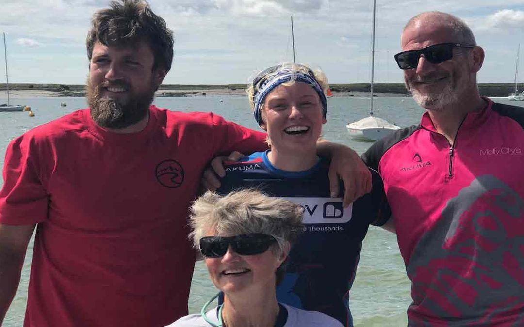 Laura Successfully Completes her Great British Row
