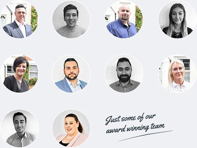 Award winning estate agent team