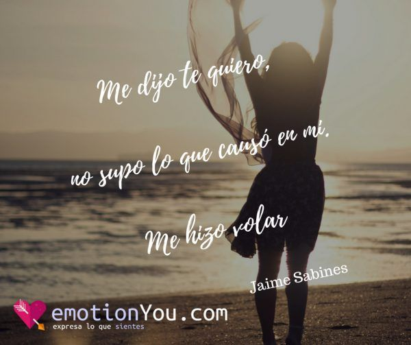 Me dijo te quiero