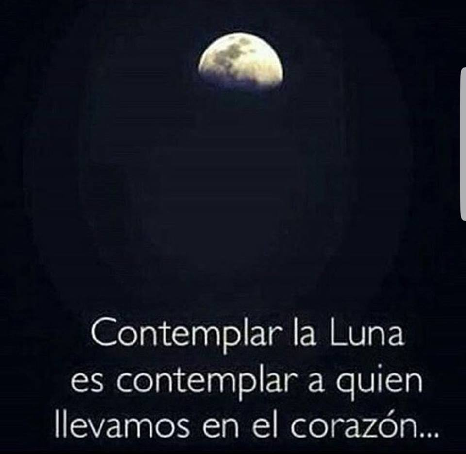 Contemplar la luna
