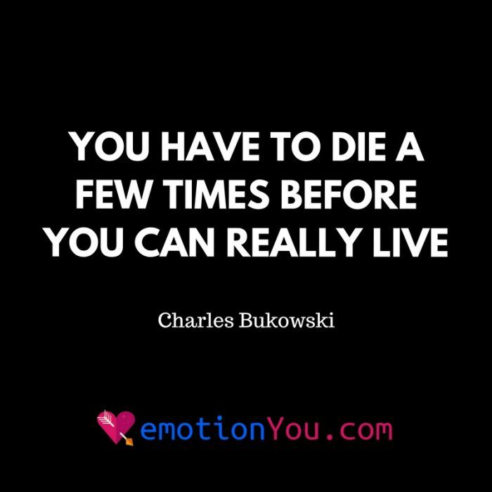 You have to die a few times