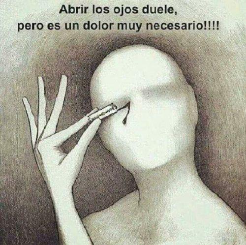 Abrir los ojos