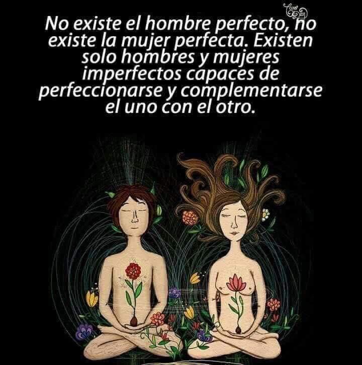 No existe el hombre perfecto