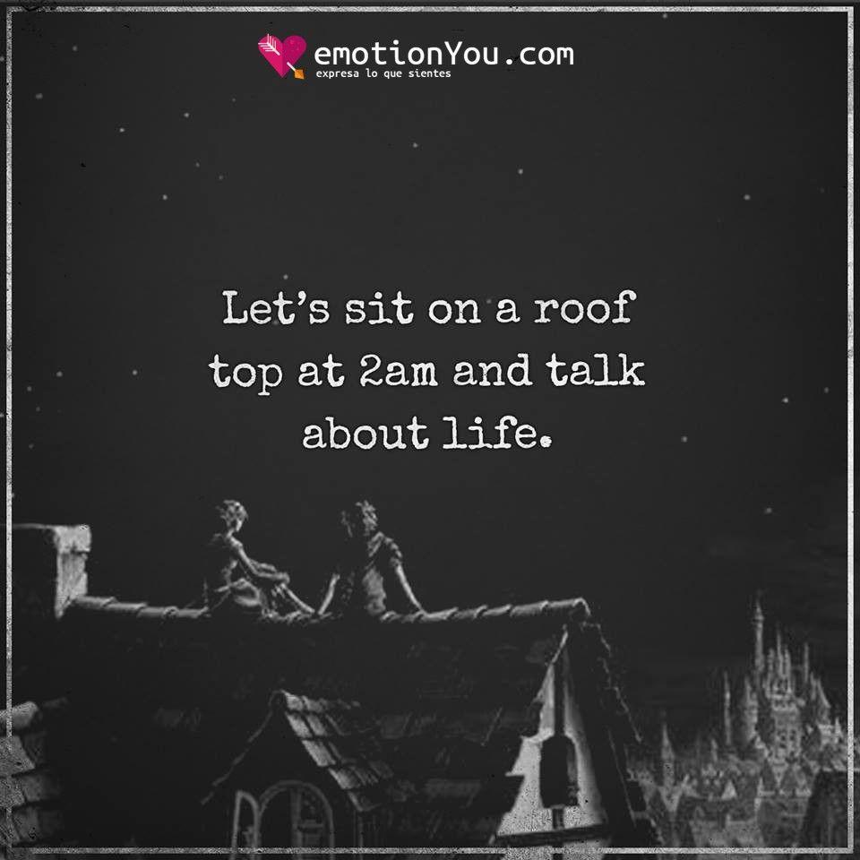 Let's sit