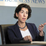 GINA M. RAIMONDO signed an executive order Friday that commits the state to a goal of sourcing electricity from 100% renewable sources by 2030. / PBN FILE PHOTO/MICHAEL SALERNO