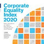THREE RHODE ISLAND companies earned a perfect score on the 2020 Corporate Equality Index conducted by the Human Rights Campaign Foundation. / COURTESY HUMAN RIGHTS CAMPAIGN FOUNDATION