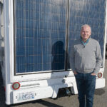 CHARGED UP: Jeffrey Flath is CEO and president of eNow Inc., a Warwick manufacturer that designed a system that uses solar panels to power refrigeration units in commercial trucks. / PBN PHOTO/MIKE SKORSKI